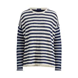 Polo Ralph Lauren Striped Linen-Blend Sweater