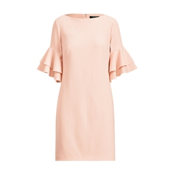 Polo Ralph Lauren Ruffle-Sleeve Shift Dress