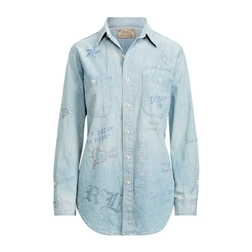 Polo Ralph Lauren Graffiti Chambray Shirt