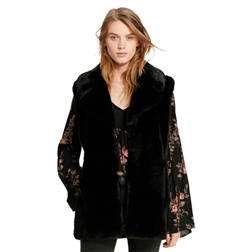 Polo Ralph Lauren Faux-Fur Vest