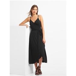 Gap Cami wrap dress