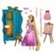 Disney Rapunzel Classic Doll Wardrobe Vanity Play Set