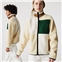 Lacoste Unisex LIVE Relaxed Fit Colorblock Fleece Sweatshirt