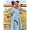 Boden Applique Pocket Jersey Dress - Frosted Blue