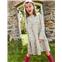 Boden Tiered Woven Dress - Oatmeal Marl Woodland