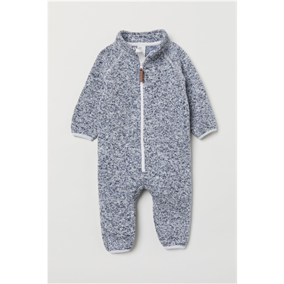 H&M Knit Fleece Overall