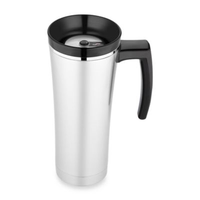 Thermos Sipp Vacuum Insulated Travel Mug in Black