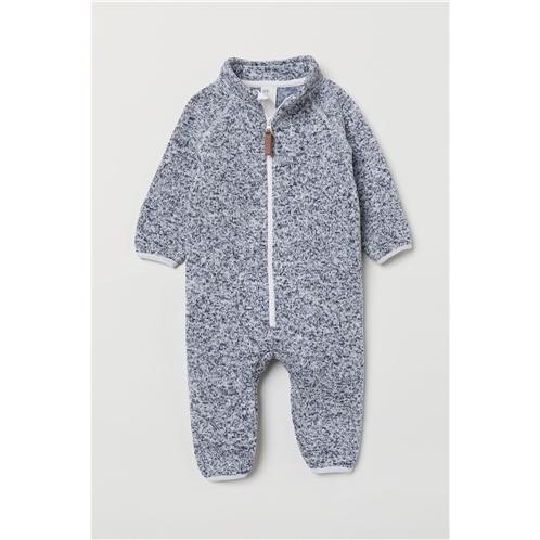 H&M Knit Fleece Overall