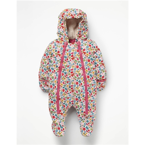 Boden Printed Snowsuit