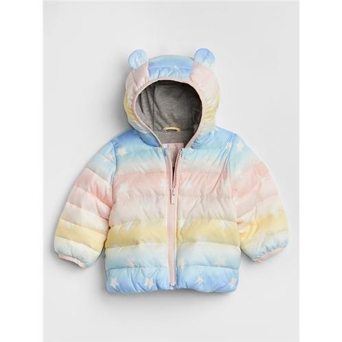 Gap Ombre Puffer Jacket