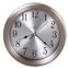 Howard Miller Pisces Wall Clock in Brushed Nickel