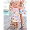 Boden Printed Jersey Dress - Multi Baby Ice Creams