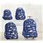 Potterybarn Mackenzie Blue Glow-in-the-Dark Shark Boys Backpacks