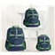 Potterybarn Navy Green Trim Solid Kids Backpacks
