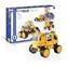 Guidecraft PowerClix Construction Vehicles Set