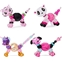 Twisty Petz Beauty, 4-Pack with Tiger, Unicorn, Puppy and Panda Collectible Bracelets with Makeup, Amazon Exclusive