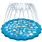 Obuby Sprinkler & Splash Play Mat for Kids, Splash Pad for Wading and Learning, 60 Children Outdoor Water Sprinkler Toys from A to Z Outdoor Swimming Pool for Babies Toddlers and B