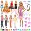 Visit the BARWA Store BARWA Lot 15 Items 5 Sets Fashion Dresses Casual Wear Clothes with 10 Pair Shoes, 13 Accessories for 11.5 Inch Girl Doll Birthday Xmas Gift