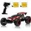 Sinovan RC Racing Car, 2.4Ghz High Speed Remote Control Car, 1:18 2WD Toy Cars Buggy for Boys & Girls with Two Rechargeable Batteries for Car, Gift for Kids