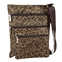 SUVELLE Suvelle Leopard Crossbody Bag, Everyday Swingpack Travel Purse, Messenger Handbag #605
