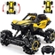RC Car, DOUBLE E Remote Control Drift Car 360 Spins 1:16 Scale Monster Trucks for Boys Girls with 1200mAh Battery Off Road 4WD RC Truck, Yellow